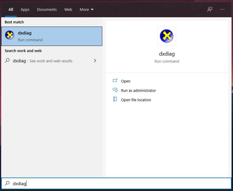 GEARVN.COM - Hướng dẫn kiểm tra cấu hình máy tính laptop đơn giản bằng DxDiag cách 2
