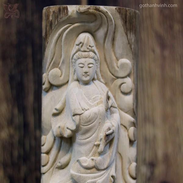 Những điều cần biết về Tượng gỗ Phật Bà bằng lõi trầm hương