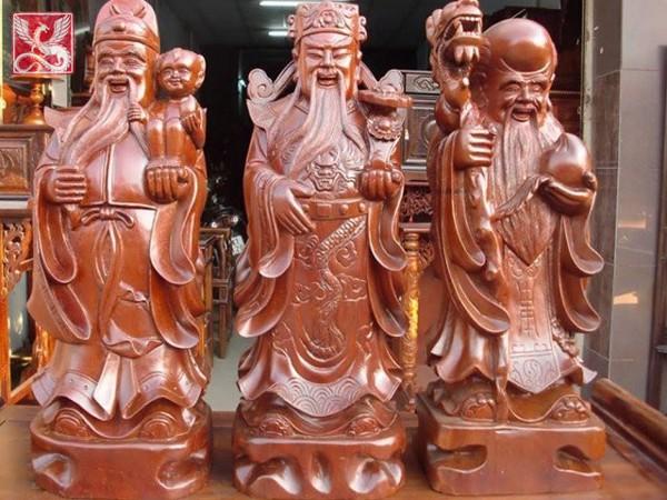 5+ tượng gỗ thu hút tài lộc và xua tan tà khí cho gia chủ