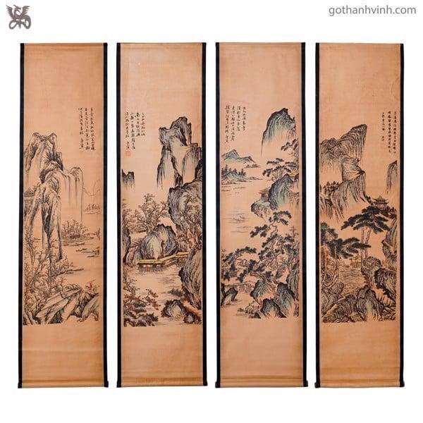 Tổng hợp những mẫu tranh gỗ treo tường độc - lạ - đẹp