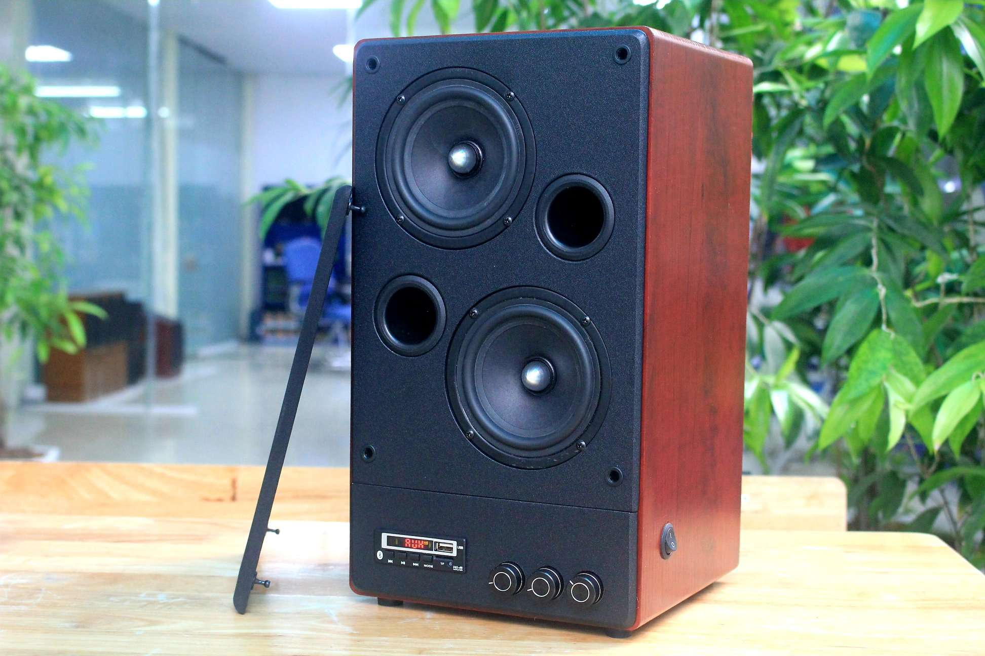 Loa toàn dải W110, loa đơn nghe nhạc hay, âm thanh nổi có kết nối bluetooth