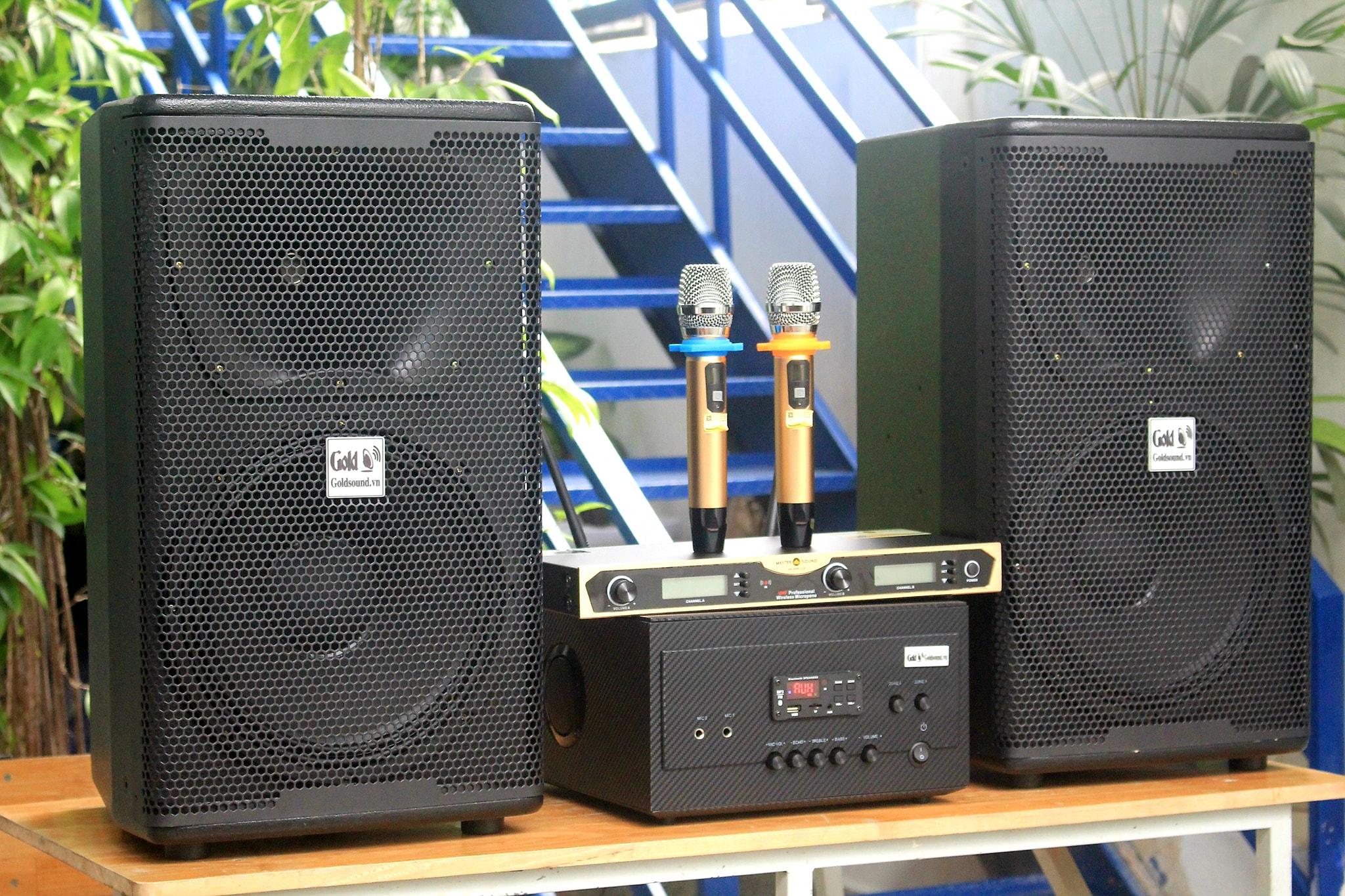 Dàn âm thanh Acoustic V238 chuyên dụng lắp QUÁN PUB, CAFE ACOUSTIC, .. từ 80m2 - 300m2