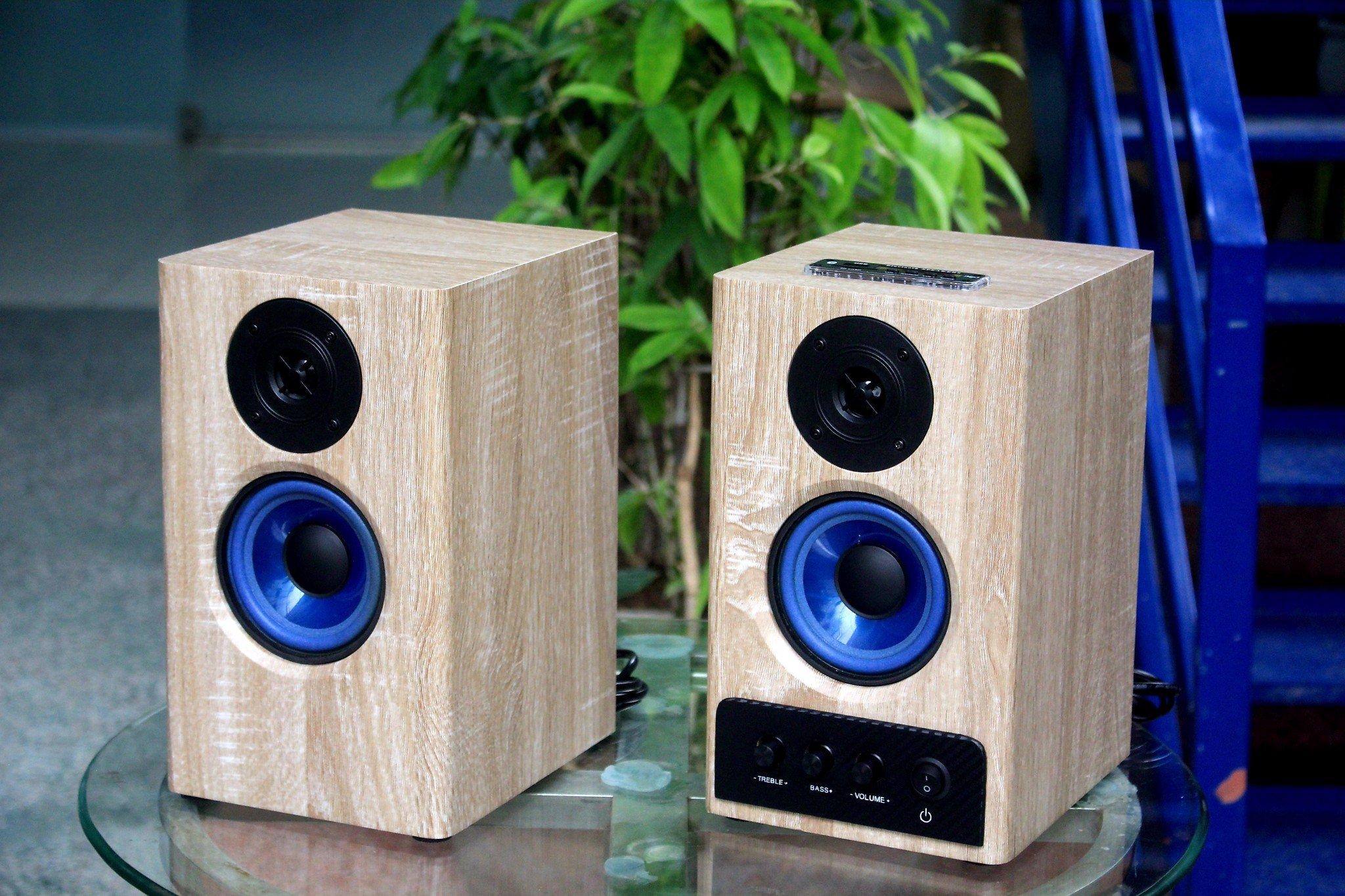 Chỉ 1.x triệu RA MẮT Bộ loa HIFI GS51 Bluetooth cao cấp, chuyên nhạc Bolero siêu ngọt, dùng phòng 25m2