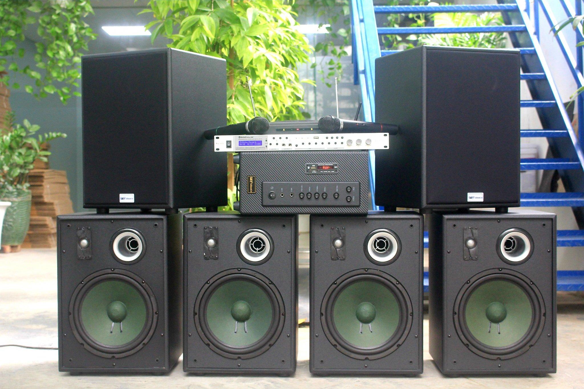 Dàn GoldAcoustic V230 âm thanh chuyên nghiệp cho quán Cafe