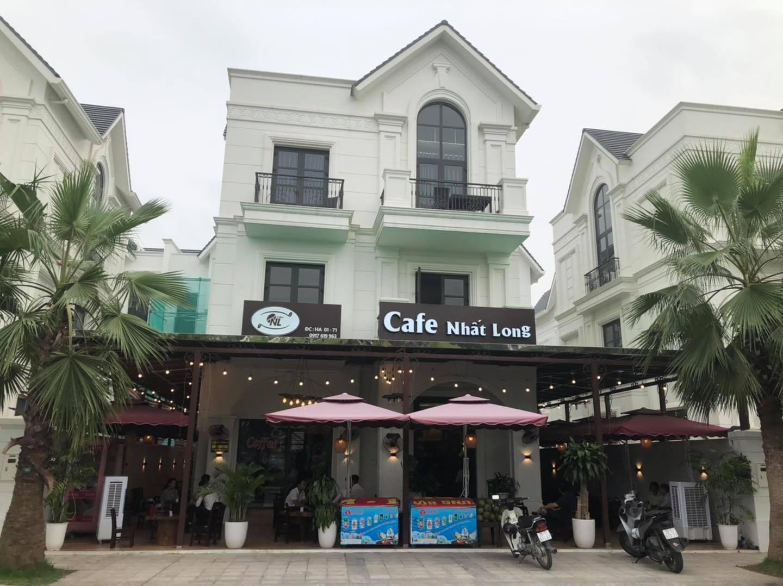 Loa goldsound lắp đặt cho Cafe Nhất Long.  Hải Âu 1 Vinhomes Ocean Park.