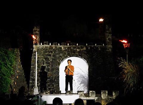 ĐÊM TRĂNG CAO MINH ( tiệc trà dưới ánh trăng )