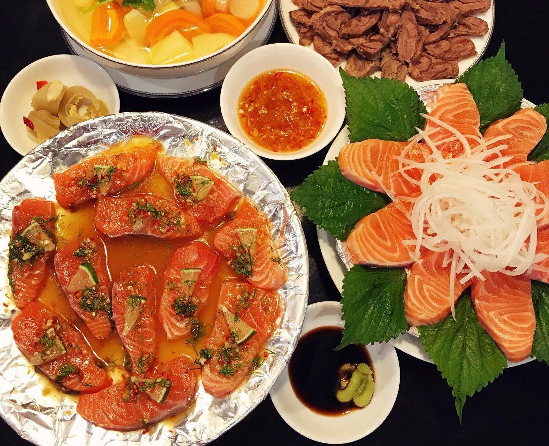 Cách Làm Món Cá Hồi Sốt Thái Chua Cay Ăn Cực Ngon