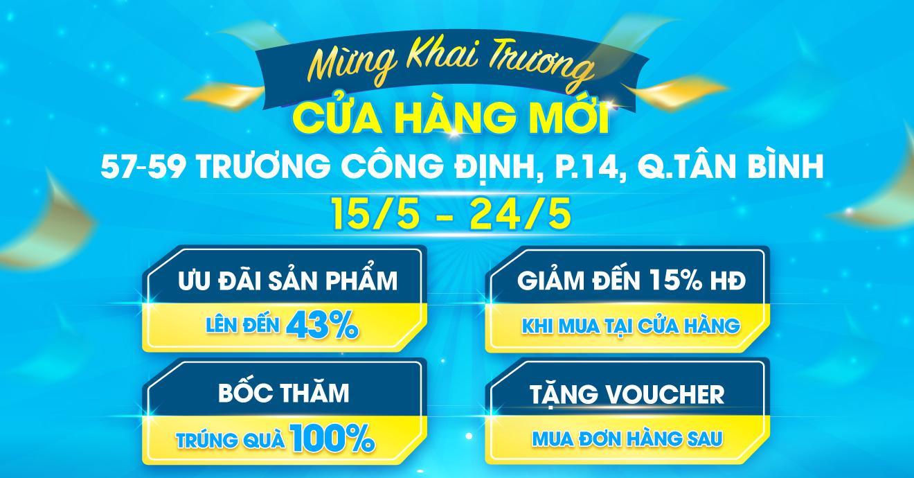 Khai Trương CH Thứ 10 - Trương Công Định