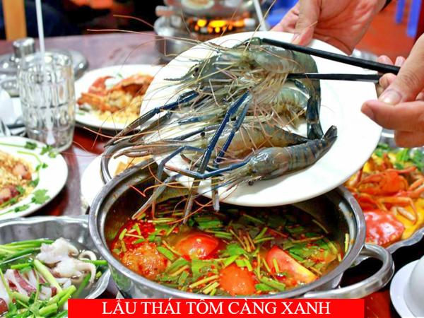 Lâu Thái Tôm Càng Xanh