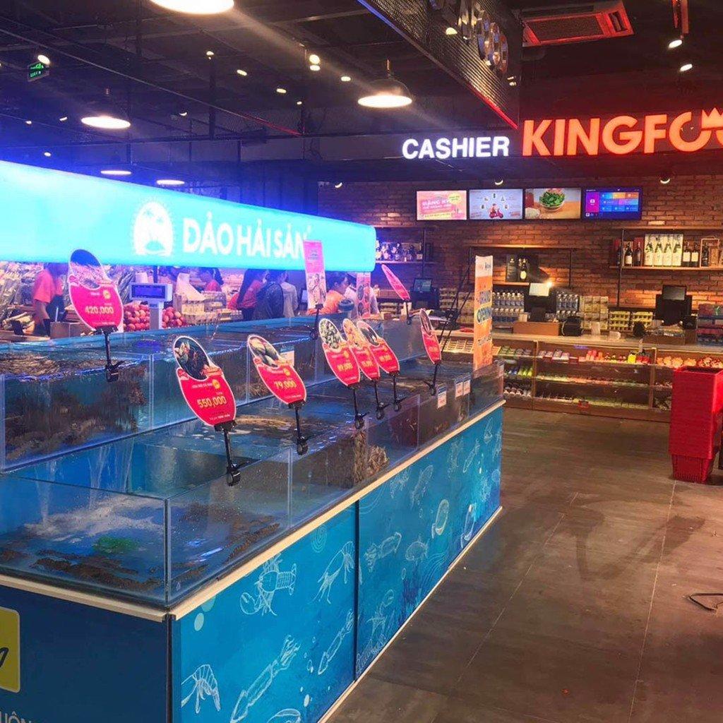Đến KINGFOOD mua hải sản sống tươi ngon chất lượng