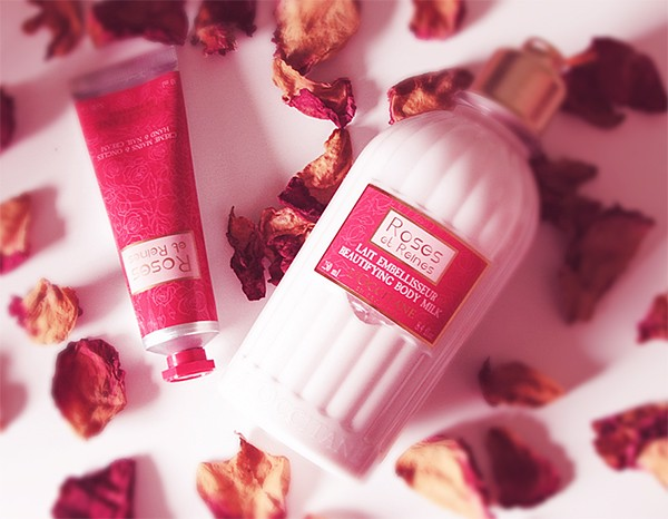 loccitane roses et reines beautifying body milk