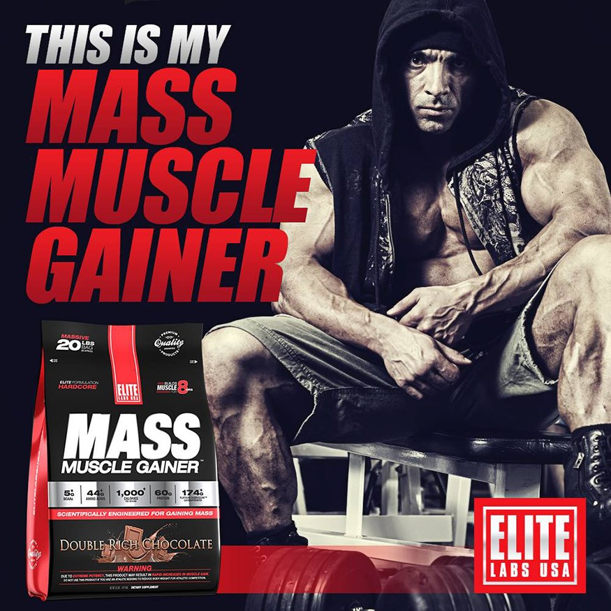 Mass Muscle Gainer banner 2