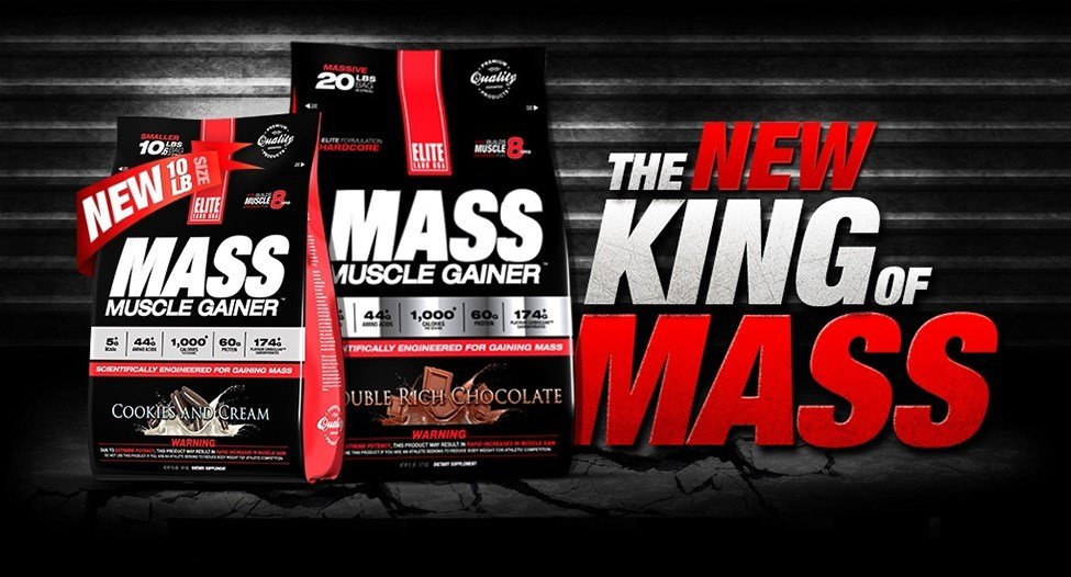 mass muscle gainer banner