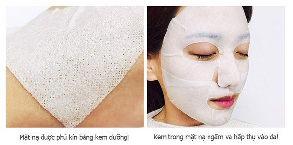 mat na duong am da snp aqua balancing cream coating mask pack des 9