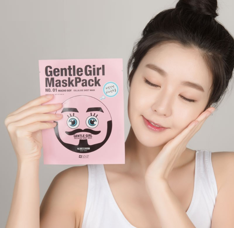 mat na selfie soai ca duong am da snp gentle girl macho boy soothing mask des 4