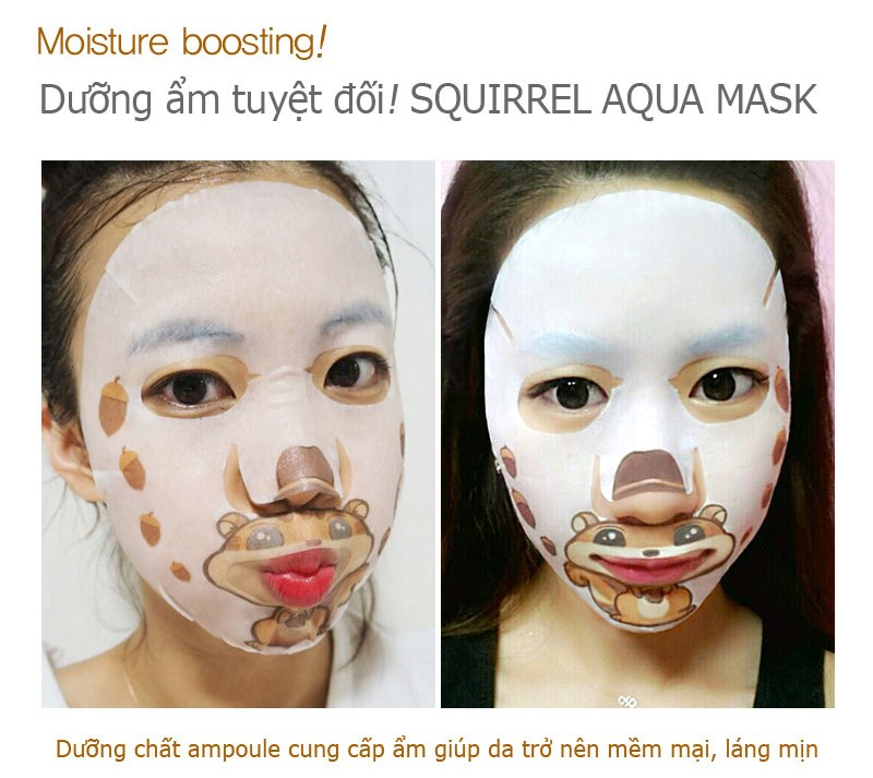 mat na selfie soc nau duong am snp squirrel aqua face art mask des 5
