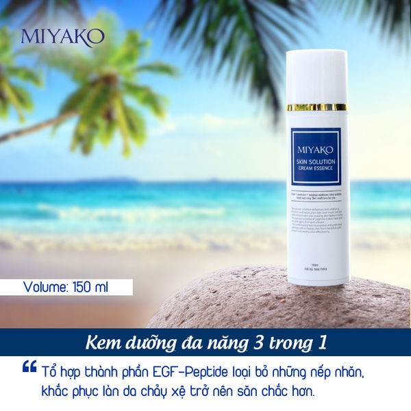 miyako skin solution cream essence