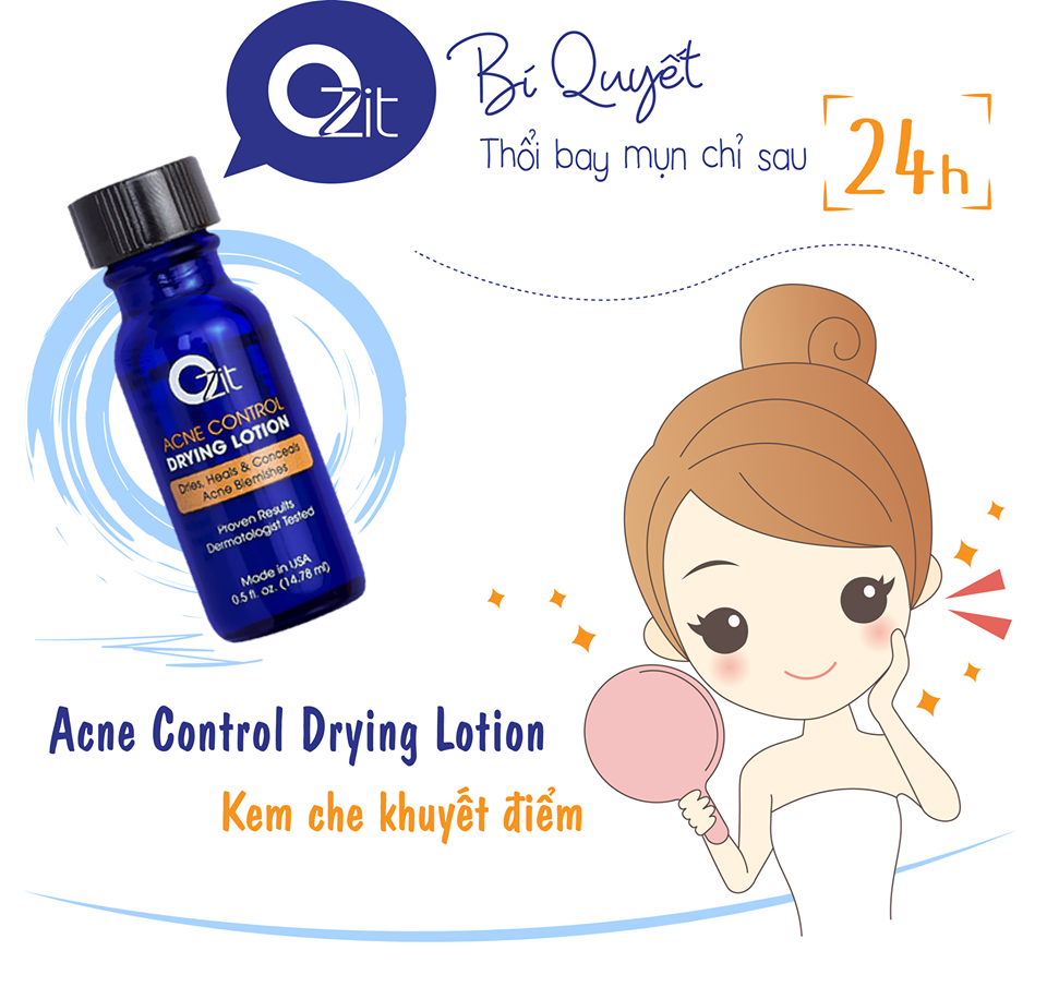Ozit Acene Control Drying Lotion 14ml