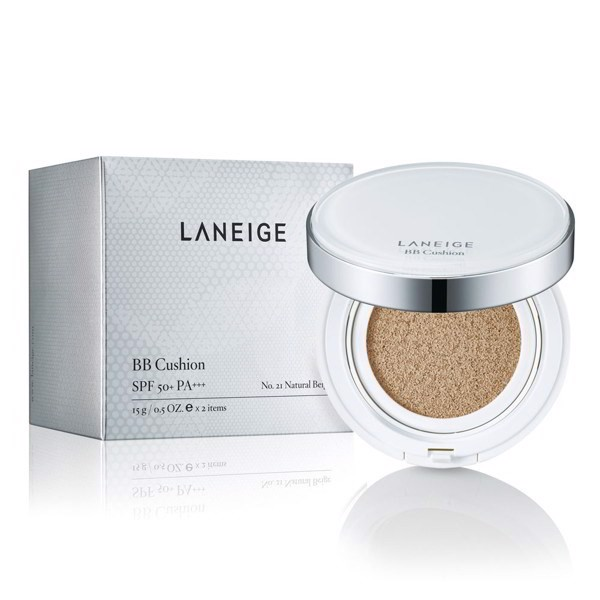 Laneige BB Cushion Whitening SPF50+ PA+++ No.21 Natural Beige
