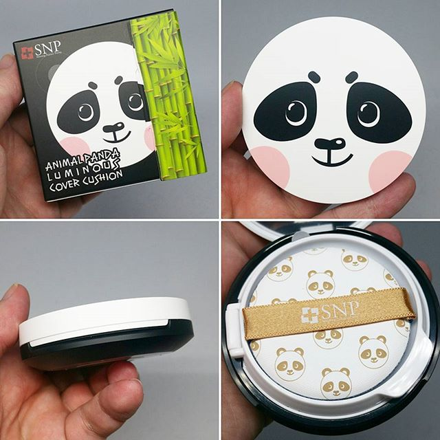 Animal Panda Luminous Cover Cushion