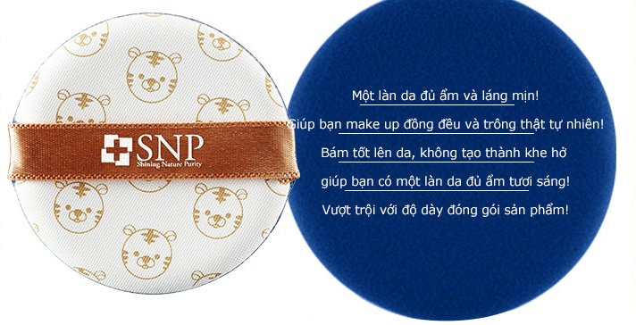 phan phu tong mau da snp animal tiger long lasting cover cushion 8