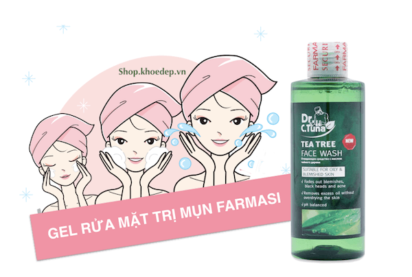 Farmasi Dr C.Tuna Tea Tree Face Wash