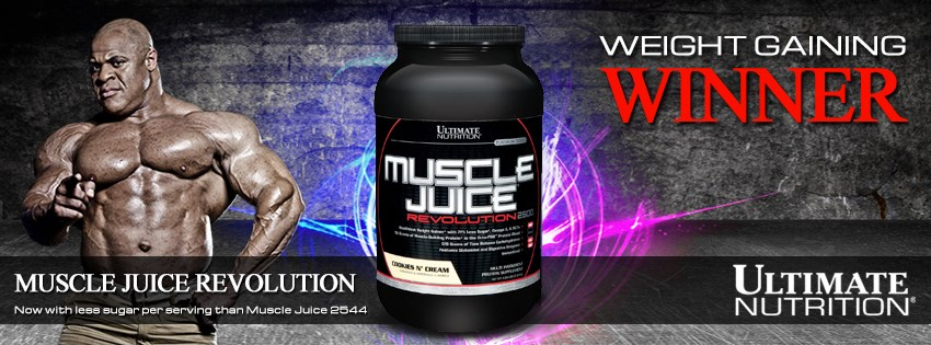 ultimate nutrition muscle juice revolution banner
