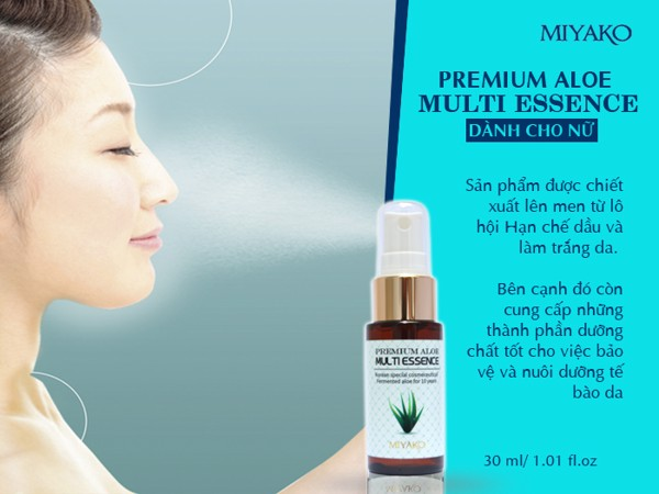 Miyako Peremium Aloe Multi Essence For Women 30ml