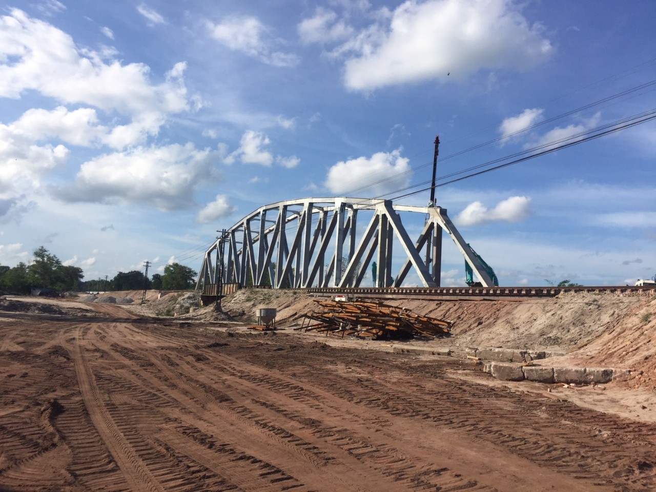 Dự án Cầu Thái Lan - Qh Plus xuất khẩu kết cấu thép sang Thái Lan