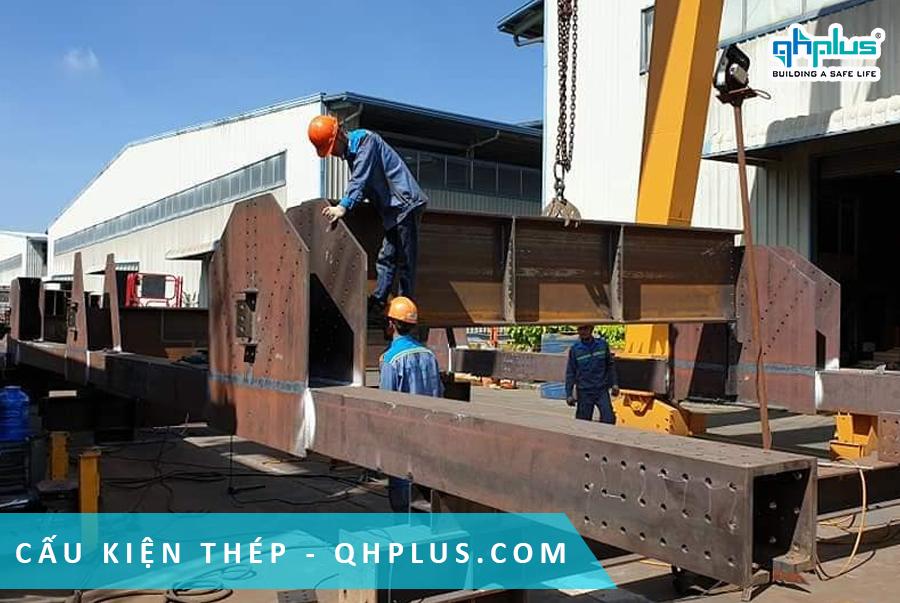 QHPlus xuất khẩu kết cấu thép dự án Thái Lan Railway