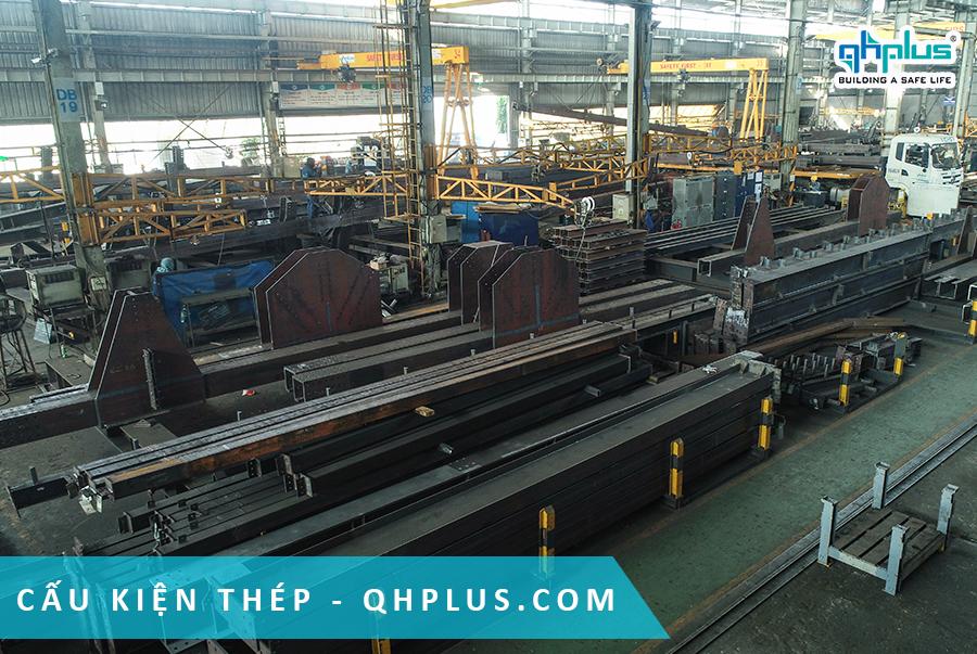QHPlus xuất khẩu kết cấu thép sang Thái Lan