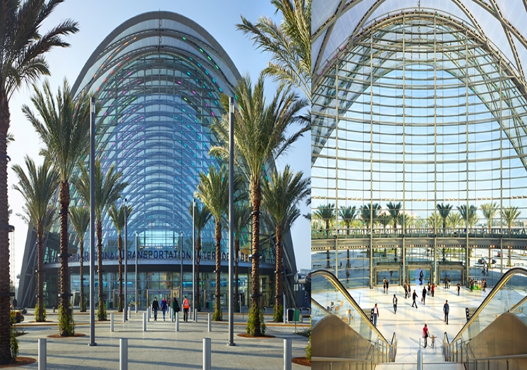 ANAHEIM REGIONAL TRANSPORTATION INTERMODAL CENTER