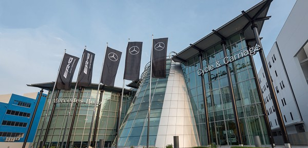 Mercedes Benz Centre