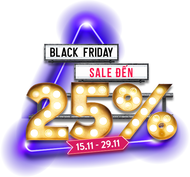 Black Friday sale đến 25%