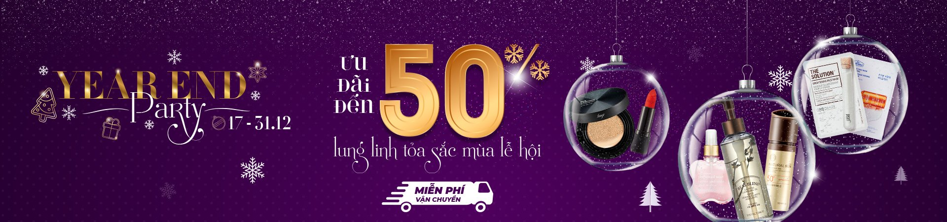 YEAR END PARTY - NHÓM GIẢM 30%