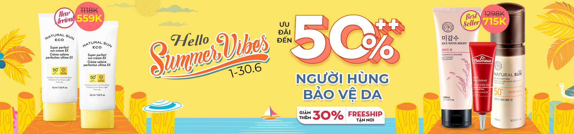 HELLO SUMMER VIBES - CLEANSING GIẢM 15%
