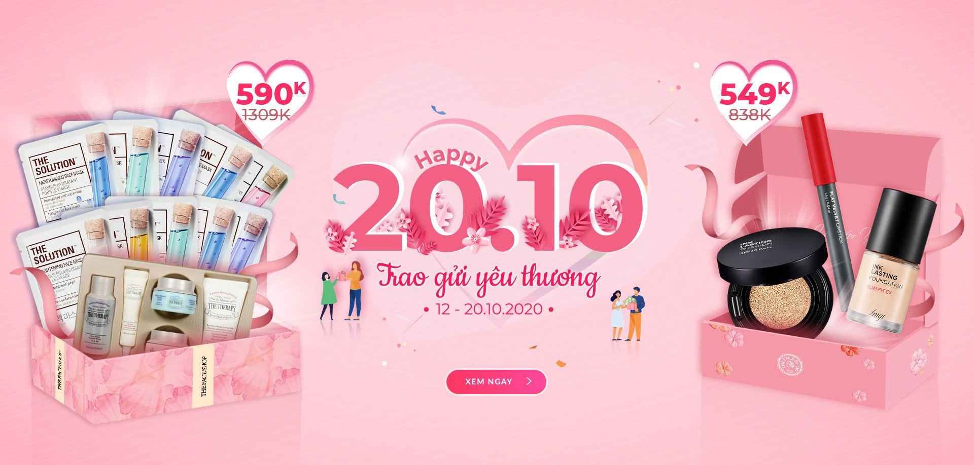 HAPPY WOMEN DAY 20.10 - GIẢM ĐẾN 50%