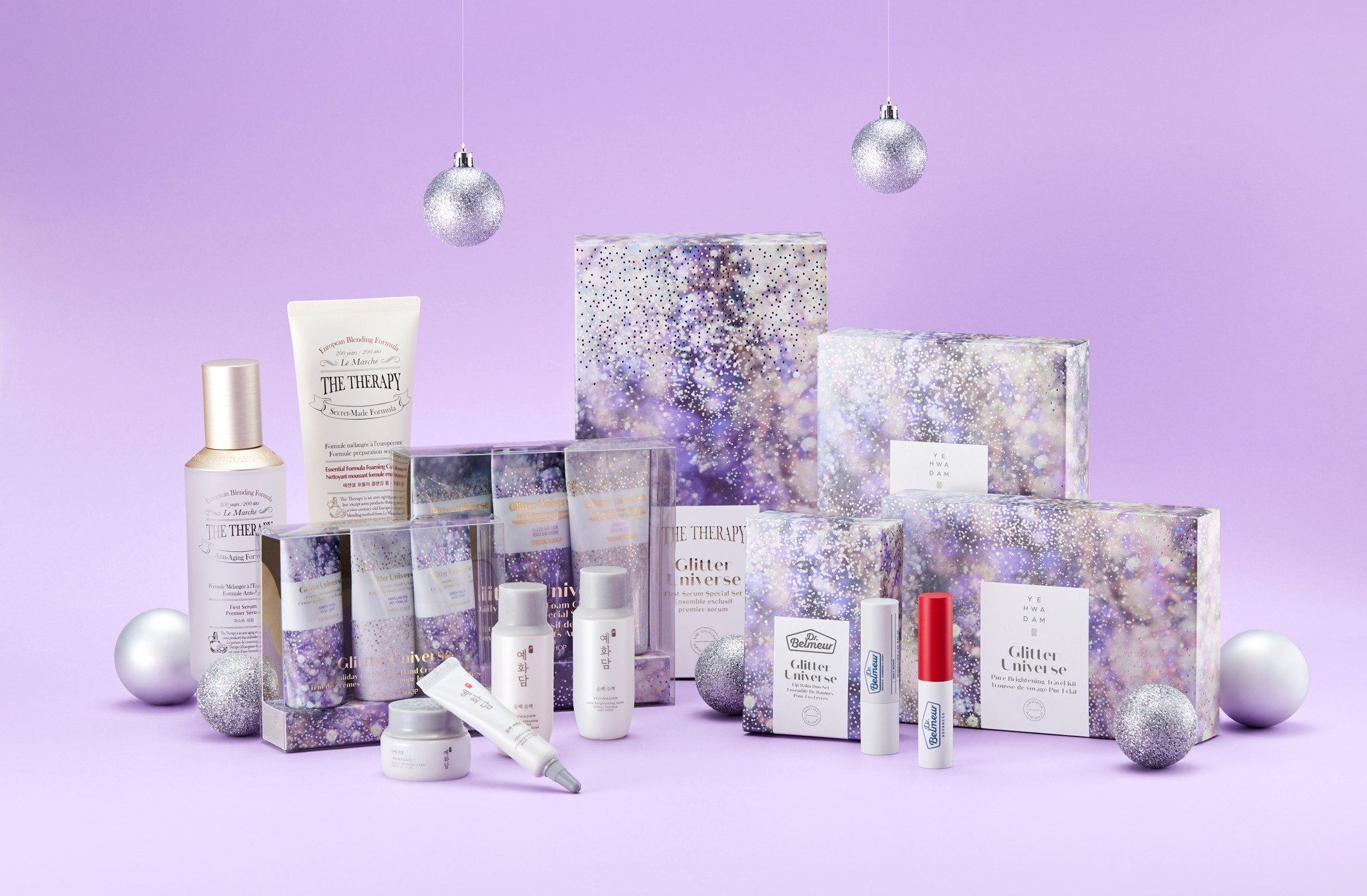 THEFACESHOP GLITTER UNIVERSE HOLIDAY