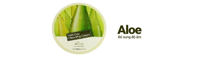 Herb Day Cleansing Cream-Aloe