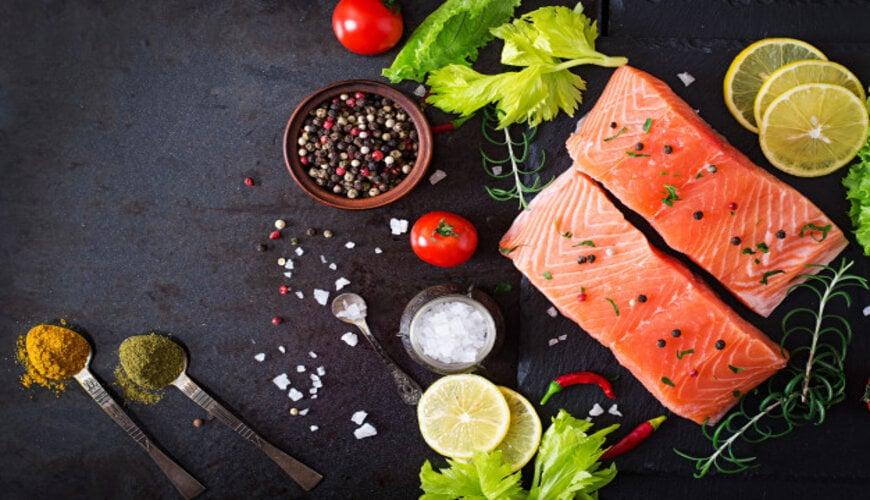 cá hồi là thực phẩm chống lão hóa