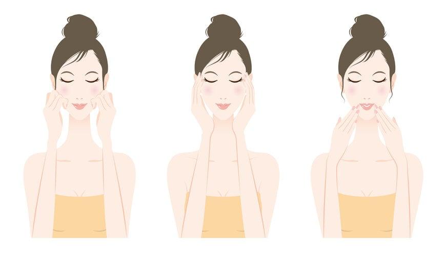 massage da mặt chống lão hóa