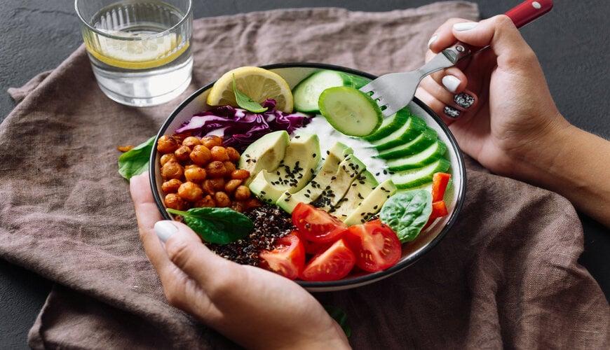 chế độ ăn uống lành mạnh ngăn ngừa lão hóa