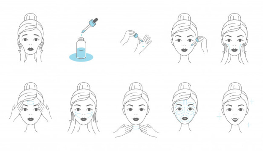 cách dùng serum