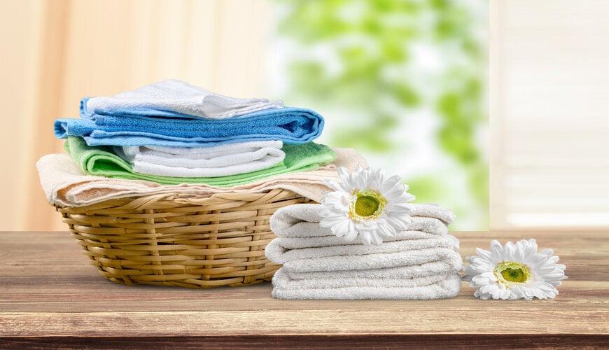 quần áo sạch sẽ để ngăn mụn lưng
