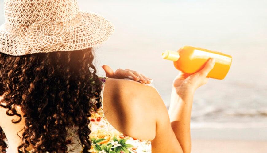 bảo vệ da với kem chống nắng