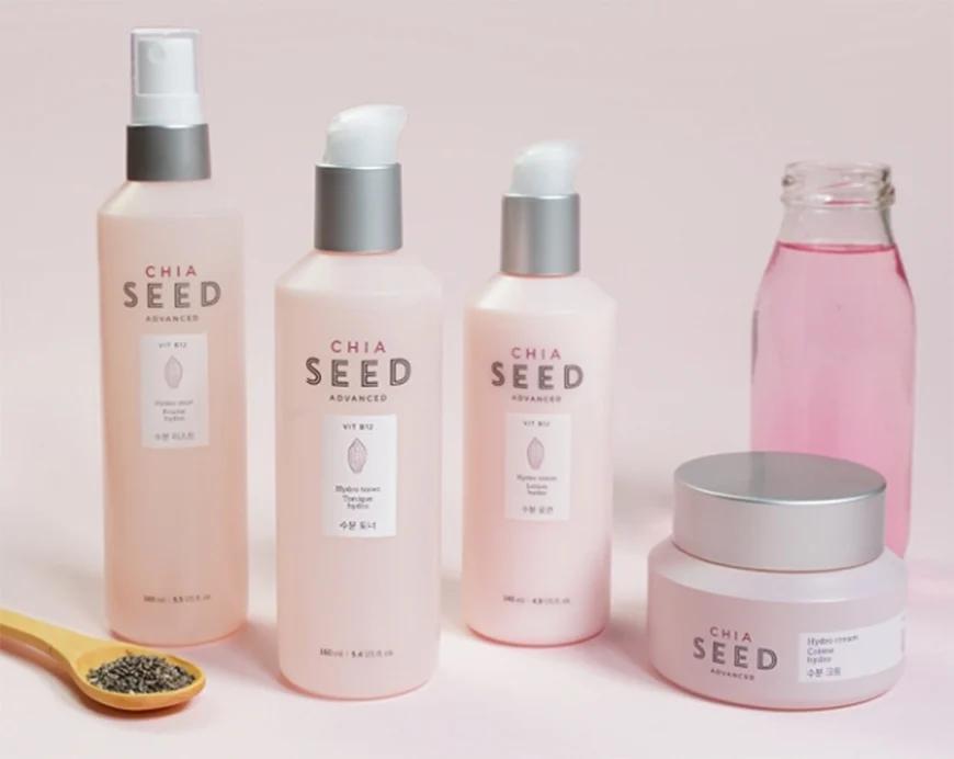 dòng dưỡng ẩm Chia Seed Advanced của The Face Shop