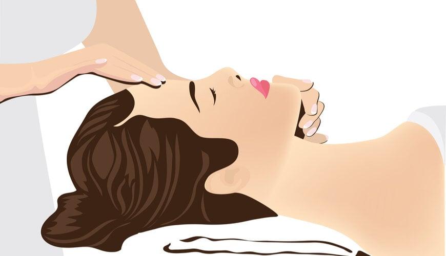 massage mặt trị nếp nhăn