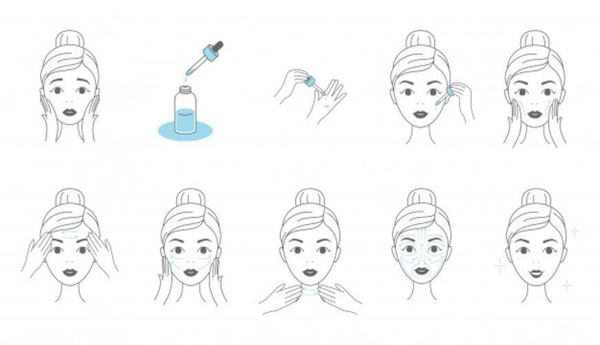 dưỡng da kiểu Hàn Quốc bằng serum