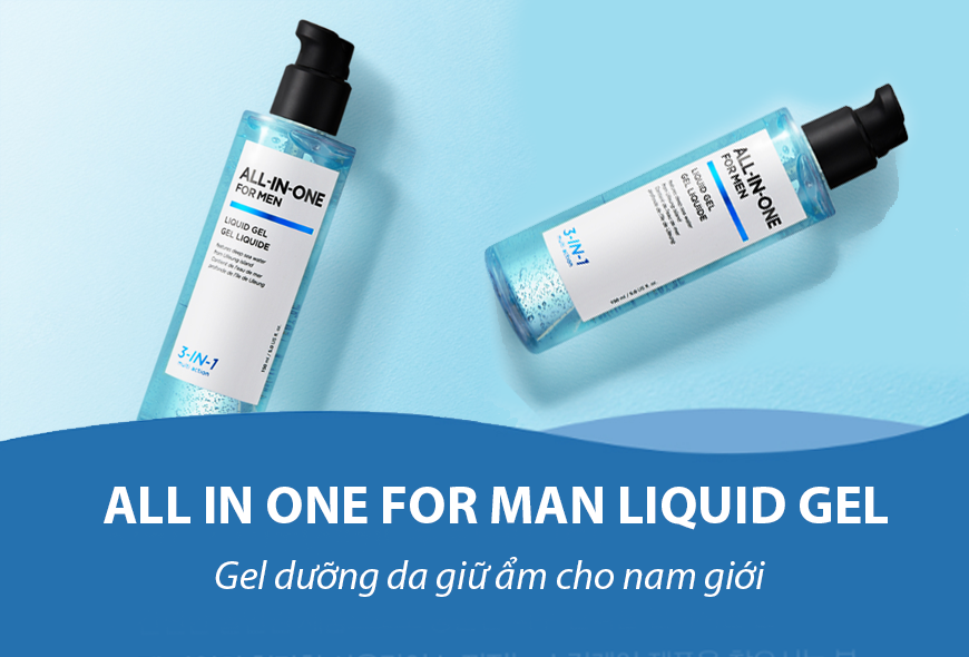 Gel Dưỡng Ẩm Cho Nam THEFACESHOP ALL IN ONE FOR MAN LIQUID GEL