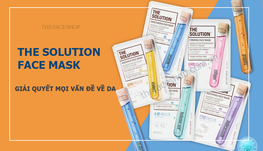 The Face Shop - The Solution Face Mask